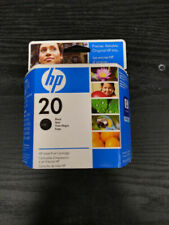 Brand New Sealed Genuine HP 20 Black Ink Cartridge C6614D Expiration 12/2009!!!