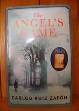 THE ANGEL'S GAME by CARLOS RUIZ ZAFON  - SIGNED & LINED 1ST/1ST HB