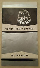 1960's Phoenix Theatre Leicester: Thelma Ruby Anthony Morton in THE MATCHMAKER