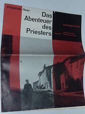 1959 FRIEDRICH HEER das abenteuer des priesters FREIBURG in BREISGAU lambertus