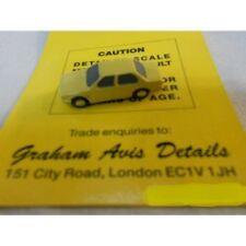 ** Graham Avis Details C03A Saloon Car Yellow 1:150 N Scale
