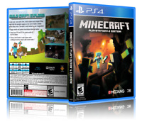 Minecraft: PlayStation 4 Edition - Replacement PS4 Cover and Case. NO GAME!!