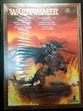 WARHAMMER Fantasy Sigmar - Chaos Lord on Manticore - Condottiero Manticora NUOVO