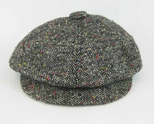 Vintage Tweed Hat Baker Boy Newsboy Gatsby Blinders Union Made Size Medium