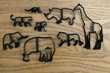 Animal Cake Mold Zoo Cake Toppers Jungle Decoration Safari New