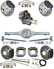 NEW SUSPENSION & WILWOOD BRAKE SET,CURRIE REAR END,POSI-TRAC GEAR,BOOSTER,646611