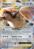 Pidgeot EX 64/108 XY Evolutions Holo Ultra Rare Pokemon Card NEAR MINT TCG