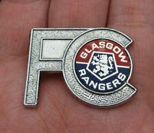 More details for glasgow rangers fc vintage 1970s original insert pin badge rare vgc