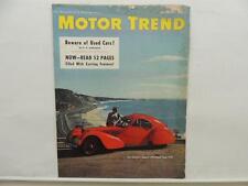 May 1951 Motor Trend Magazine Daytona Chrysler Cadillac Buick L9002