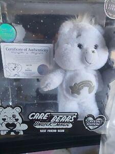 Limited Edition Care Bear Unlock The Magic Best Friend Bear Crystal Edition no66