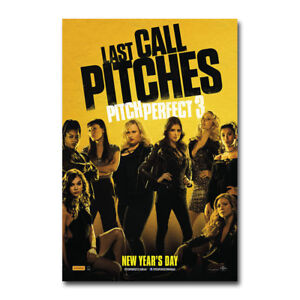 Pitch Perfect 3 Last Call Hot Movie Art Silk Canvas Poster 13x20 24x36 inches