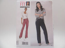 Vogue 1464 V1464, Today's Fit Sandra Betzina, Button Front Pants Pattern OSZ