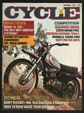 1972 December Cycle Illustrated - Vintage Motorcycle Magazine