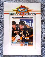 Stadium Club Master Photo Ray Bourque & John Vanbiesbrouck NHL 1993 Topps Cards