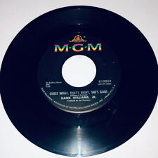Hank Williams Jr: Guess What, That's Right, She's Gone / Goin' Steady / 45 23W
