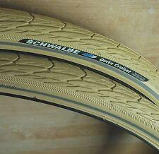 """Schwalbe Delta Cruiser Tyre CREAM 26x 1 3/8""""  town bike"""