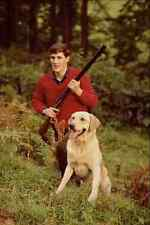 515095 Hombre Con Labrador Perro y doce Bore Escopeta Inglaterra A4 Foto Impresión