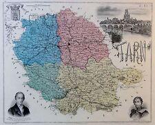 Tarn & Garonne - kolorierter Kupferstich - ca. 1840 - Isidore - Legenisel (09