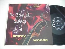 The Colorful Strings of Jimmy Woode 1957 Mono LP VG+