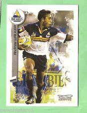 2003  RUGBY UNION CARD #50  ANDREW WALKER, ACT BRUMBIES