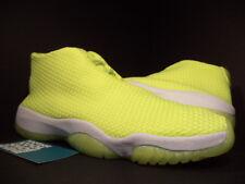 2014 Nike Air Jordan XI 11 FUTURE VOLT NEON YELLOW GREEN WHITE 656503-720 DS 12