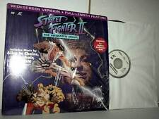 STREET FIGHTER II THE ANIMATED MOVIE UNRATED VERSION CLV LASER DISC VBC 45688