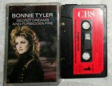 "Bonnie Tyler  ""Secret Dreams And Forbidden Firef"" K7 audio TBE"
