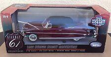 1952 Hudson Hornet Convertible Big 1:18 Highway 61 brick red diecast car 50449