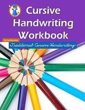 Cursive Handwriting Workbook: Workbooks for 1st Graders Through 3rd Graders (80