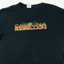 Carolina Rebellion Shirt L Large Black 2011 Heavy Metal Godsmack Halestorm...