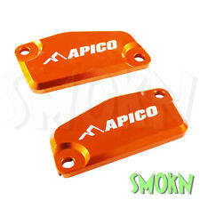 Apico Brake & Clutch Reservoir Caps fit KTM SX 65 SX 85 14-20 Master Cylinder Or
