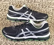 ASICS GEL EXCEL 33 MEN'S ATHLETIC RUNNING SHOES SIZE 14 BLACK SILVER GREEN T221N