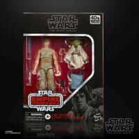 Star Wars The Black Series Luke Skywalker & Yoda Jedi Training 6 Inch Figure D4