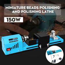 150W DIY Woodworking Lathe Standard Beads Cutting Machine Drill Polishing Tool