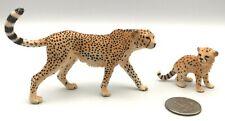 Schleich Female Cheetah Mother & Baby Cub 14747 14746 Animal Figures 2015