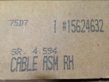 OEM GM Right Rear Park Brake Cable Part #15624632