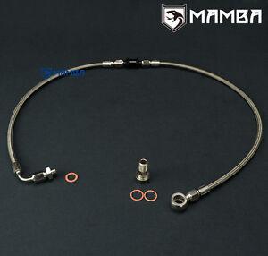 MAMBA Turbo Oil Feed Line Kit For Ford Territory Ghia Garrett GT35/40R GT3582R