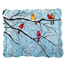 Collections Etc Cardinal On Snow Covered Tree Branches Pillow Sham