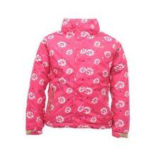 Abbigliamento impermeabile rosa per bambini dai 2 ai 16 anni