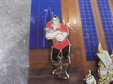 DISNEY BEAUTY AND THE BEAST GASTON ARMS CROSSED FROM 4 PIN SET