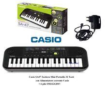 Tastiera Tastiere Elettronica Piano Digitale Casio Sa47 32 Tasti (fondo Grigio)