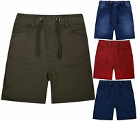Boys New Cotton Shorts Kids Ex Store Summer Sun Holiday Casual Pants Age 5-12 Yr