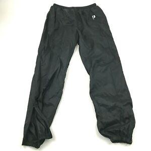 VINTAGE Pro Player Pants Size Large L Black Joggers Track Pant Adult Warm Up 90s