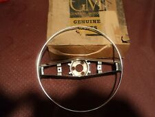 Nos GM 1958 Chevrolet Bel Air 210 150 Steering Wheel Horn Trim Ring