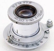 FED 50mm 3.5 Obiettiv Lens M39 Zorki FED Leica 35mm RF camer USSR Tessar