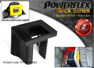 PFF60-821BLK Powerflex Black For Renault Megane2 + 225 R26 02-08 UpEngMnt Insert