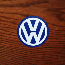 "Volkswagen VW Logo 4"" inch Vinyl Sticker Decal"