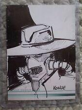 2009 Star Wars Artist Sketch Card Cad Bane by Lee Kohse