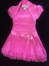 Toddler Girl's Fancy Dressy Dress/ 2T Hot Pink By Philly