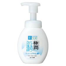 Rohto Hadalabo Gokujyun Super Hyaluronic Acid Face Wash Foaming type 160ml Japan